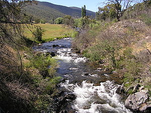 Brindabella Range - Image: Brindabella Valley And Goodradigbee River