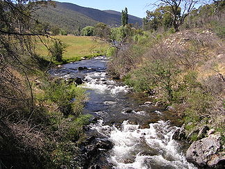 Goodradigbee River im Brindabella Valley