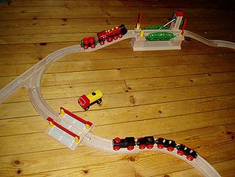 Brio (company) - BRIO wooden trains and tracks
