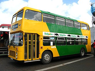 Badgerline - Preserved Bristol VR in May 2011