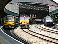 Bristol Temple Meads Classes 43, 66, 143 and 158.jpg