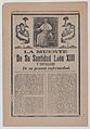 Broadsheet relating to the death of Pope León XIII, he is shown in his study flanked by angels MET DP868515.jpg