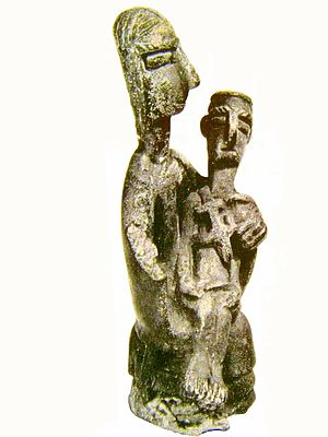 Nuragic bronze statuettes - Image: Bronzetto Nuragico 21