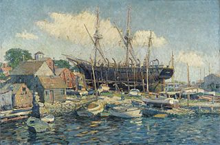 Clifford Warren Ashley American artist, author, sailor, and knot expert