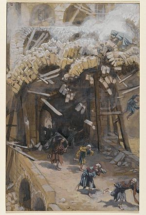 Tower of Siloam - James Tissot, The Tower of Siloam