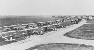Brooks Air Force Base - Brooks Field, Texas, JN-6s, 1925