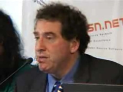 Bruce Perens WSIS 2005.png