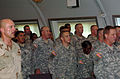Bruce Vargo and David Thomas sing army songs.jpg