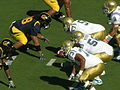 Bruins on offense at UCLA at Cal 10-25-08 03.JPG