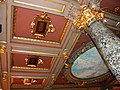 Bucuresti, Romania, Casa Vernescu, Calea Victoriei nr. 133, sect. 1 (plafon 9).JPG