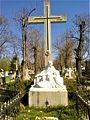 Bucuresti, Romania. Cimitirul Bellu Catolic. Primavara 2017 in Cimitirul Bellu Catolic. Mormantul Eroului Necunoscut.jpg