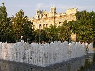 Hungarian National Bank - Image: Budapest, Szabadság tér, Nemzeti Bank épülete