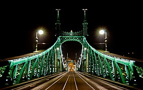 Budapest Szabadság híd 2012