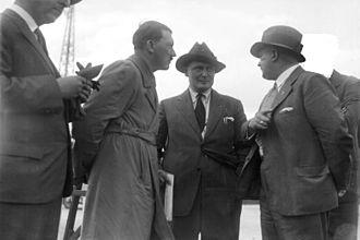 Berlin Tempelhof Airport - Adolf Hitler at Zentralflughafen Tempelhof-Berlin, 1932