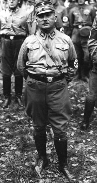 Night of the Long Knives - SA leader Ernst Röhm in Bavaria in 1934