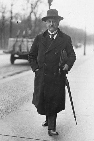 Bonndorf - Konstantin Fehrenbach in 1921