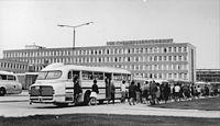 Автобус икарус 55 за внешнее