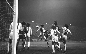 1. FC Magdeburg - European Cup, second round, second leg vs Bayern Munich on 6 November 1974