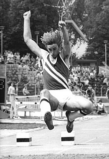 Henry Lauterbach German long and high jumper