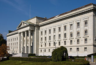 Federal Supreme Court of Switzerland - Image: Bundesgericht VD