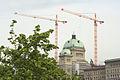 Bundeshaus während Renovation, Mai 2006 (3).jpg
