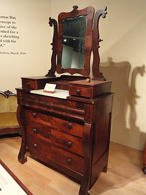 Thomas Day (North Carolina) - Bureau, c. 1860-66, North Carolina Museum of History