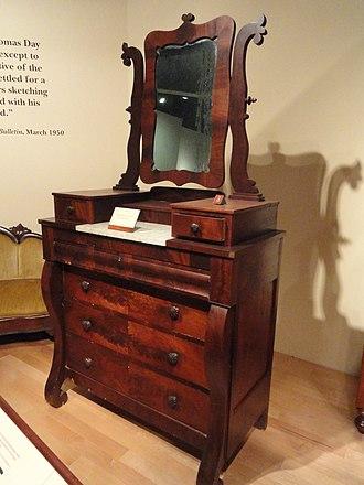 Thomas Day (North Carolina) - Bureau, c. 1860-66, North Carolina Museum of History