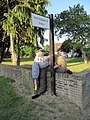 Burglar scarecrow - Blewbury Scarecrow Competition, Oxfordshire.jpg
