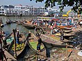 Buriganga at the port Sadarghat 02.jpg