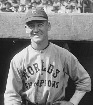George Burns (first baseman) - Image: Burns Cleveland