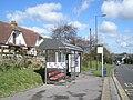 Bus stop near Lansdowne Avenue, Widley - geograph.org.uk - 732057.jpg