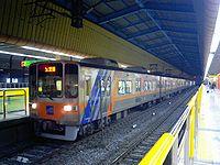 Busan subway line 1 train at Dongnae station.jpg