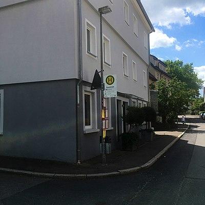 Bushaltestelle Dieselstraße Tübingen Lustnau Fahrtrichtung Nord.jpg