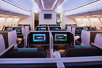 Oman Air - Oman Air Airbus A330-300 Business class cabin