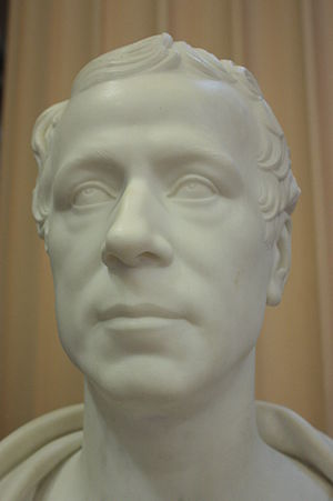 Andrew Rutherfurd, Lord Rutherfurd - Bust of Andrew Rutherfurd, Lord Rutherfurd, by William Theod Rome (1837) Old College, Edinburgh University