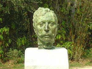 Προτομή του ποιητή Ζαν Μορεάς, Εθνικός Κήπος, Αθήνα