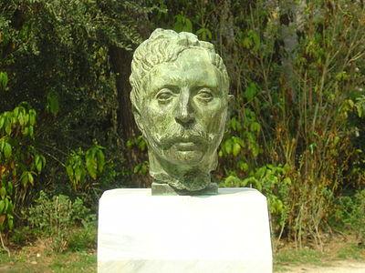 Bust of Jean Moreas, National Garden, Athens