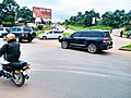 Busy road during lockdown due to covid 19 in Uganda.jpg