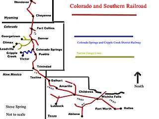 Colorado and Southern Railway company