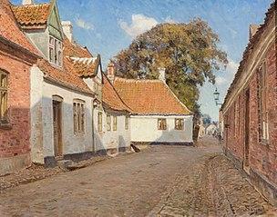 Hjørnet af Puggaardsgade, Ribe