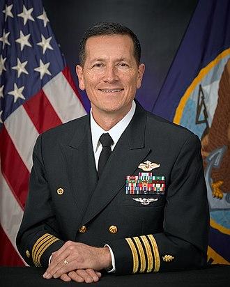 Naval Health Clinic New England - Image: CAPT Phillip M. Sanchez