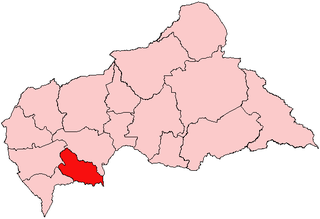 Lobaye Prefecture in Central African Republic