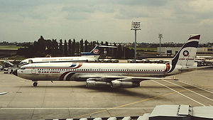 LATAM Chile - A LAN-Chile Boeing 707 at Paris-Orly Airport in 1981