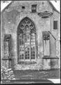 CH-NB - Romainmôtier, Abbatiale, Choeur, vue partielle extérieure - Collection Max van Berchem - EAD-7461.tif