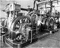 COLLECTIE TROPENMUSEUM Dynamo's in de Elctrische centrale van de Sabang Maatschappij TMnr 10020848.jpg