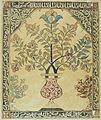 COLLECTIE TROPENMUSEUM Een levensboom in een vaas met islamitische religieuze teksten in Arabisch schrift er omheen TMnr 687-60.jpg