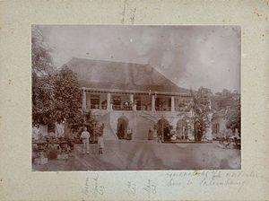 Sultan Mahmud Badaruddin II Museum - House of the Resident in 19th-century.
