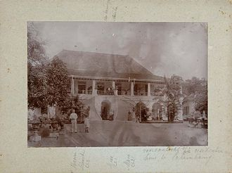 Sultan Mahmud Badaruddin II Museum - House of the Resident in 19th-century.