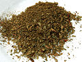 CSIRO ScienceImage 3655 Dried and Crushed Mountain Pepper Leaves Tasmannia lanceolata.jpg