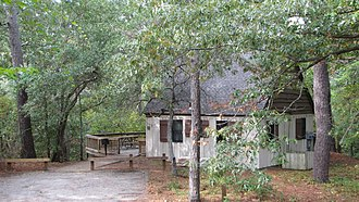 First Landing State Park - A cabin in the park